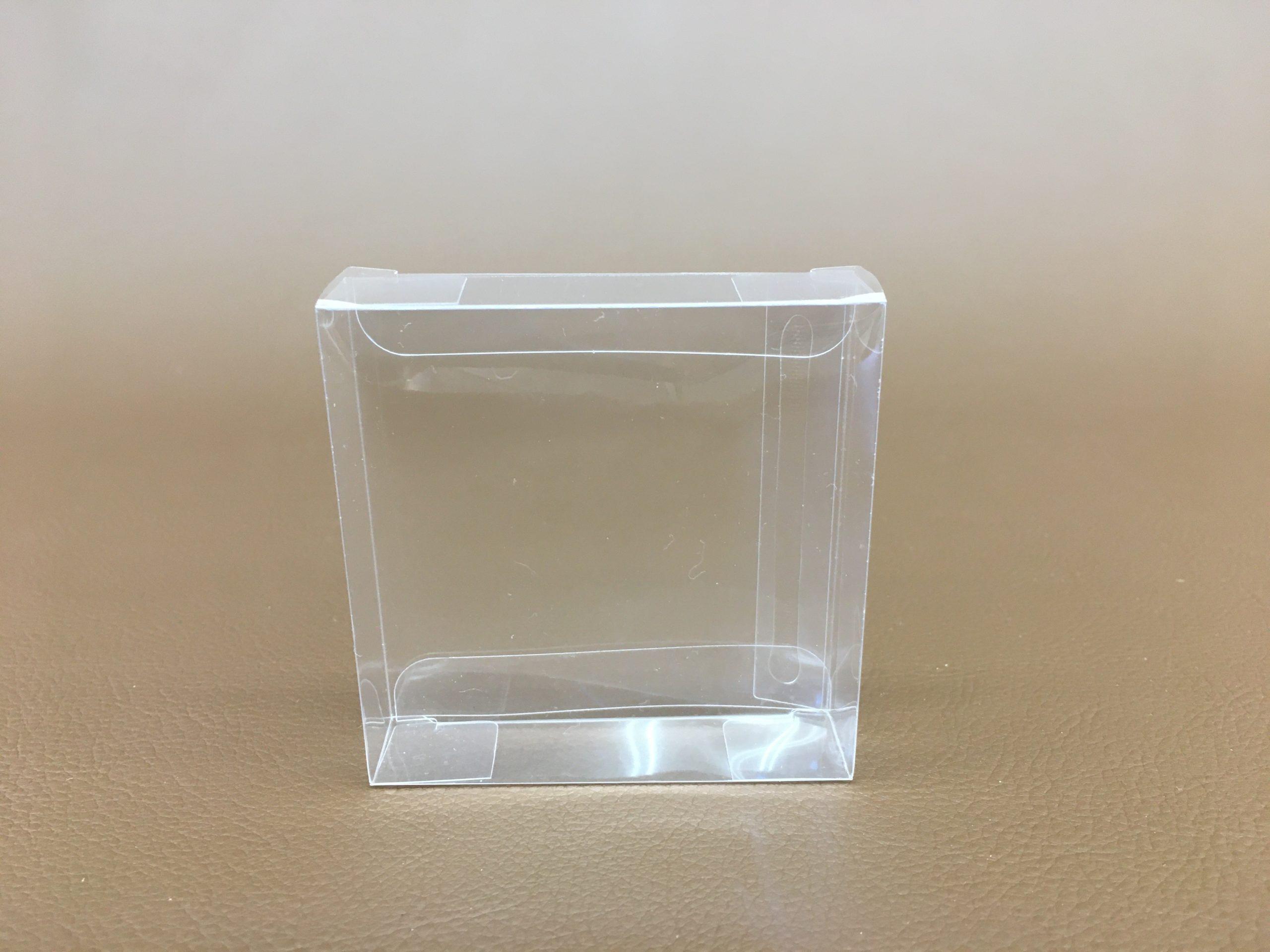 キャラメルケースPET 0.2厚 W72mmxD18mmxH72mm