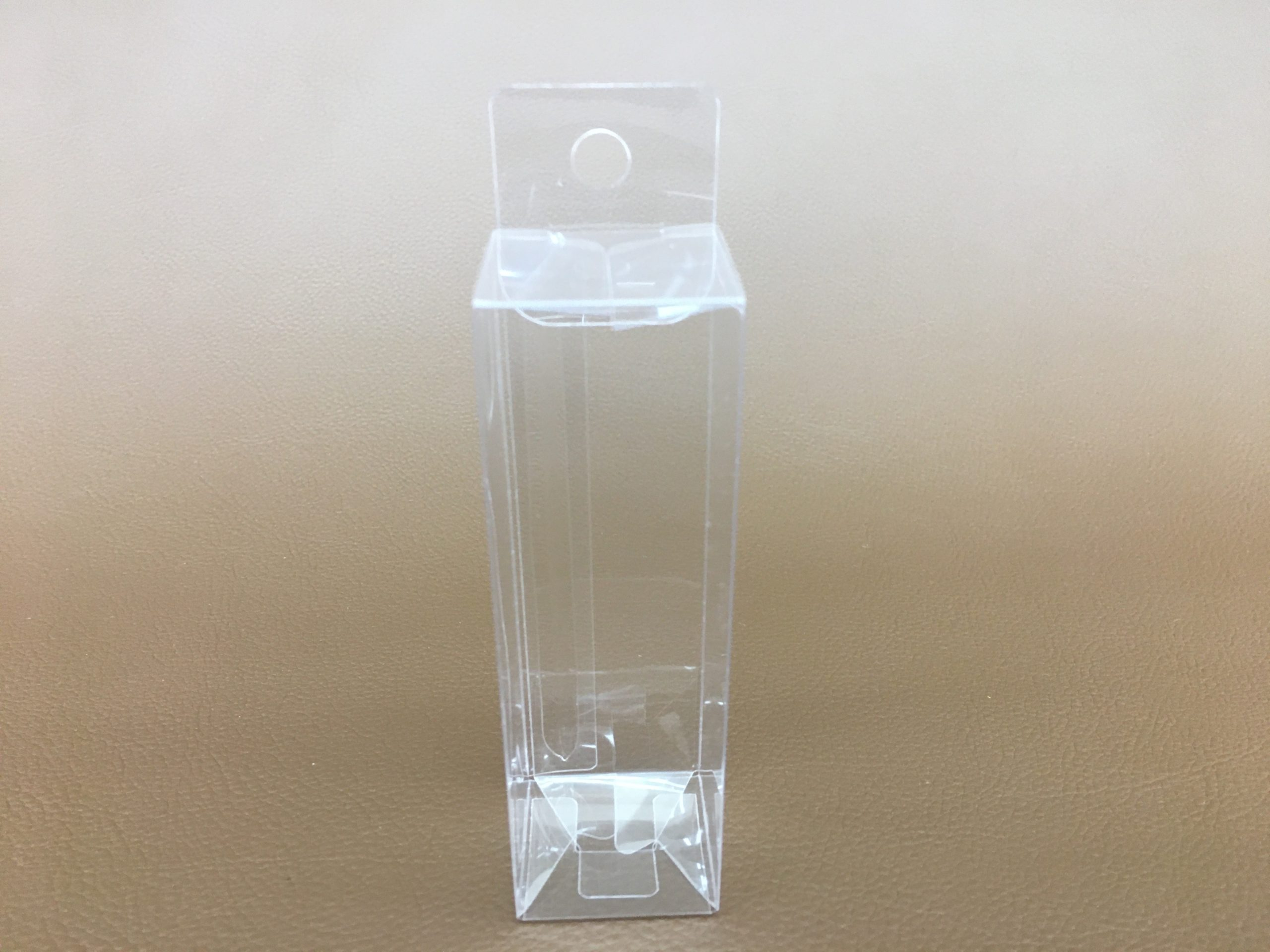 アルコール除菌ボトル用ケース PET 0.2厚 W32mmxD32mmxH102mm